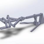 CAD of a robot hand
